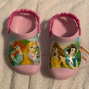Disney Princess Crocs